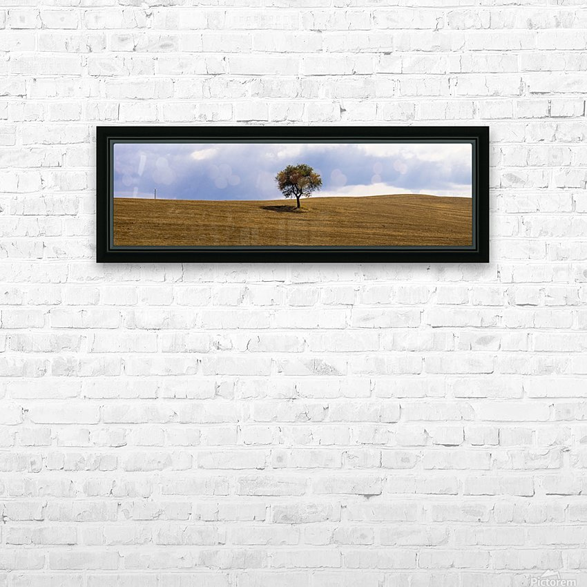 Tuscany Tree HD Sublimation Metal print with Decorating Float Frame (BOX)