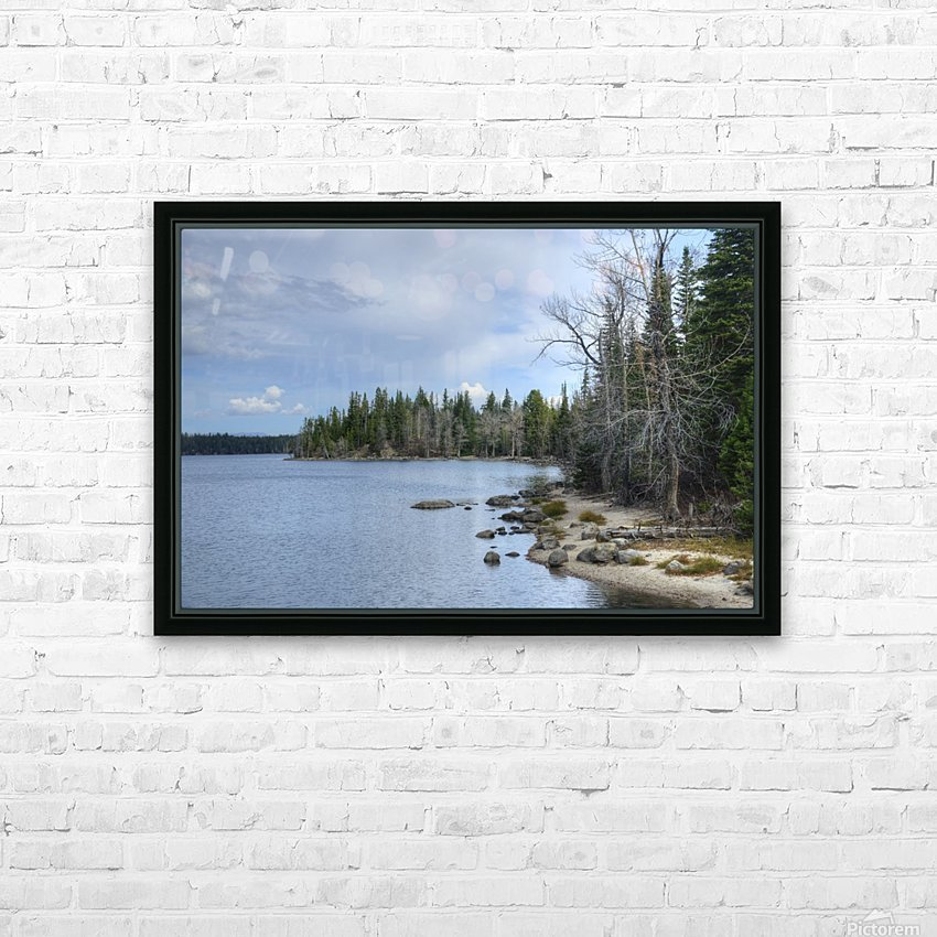Dream Land HD Sublimation Metal print with Decorating Float Frame (BOX)