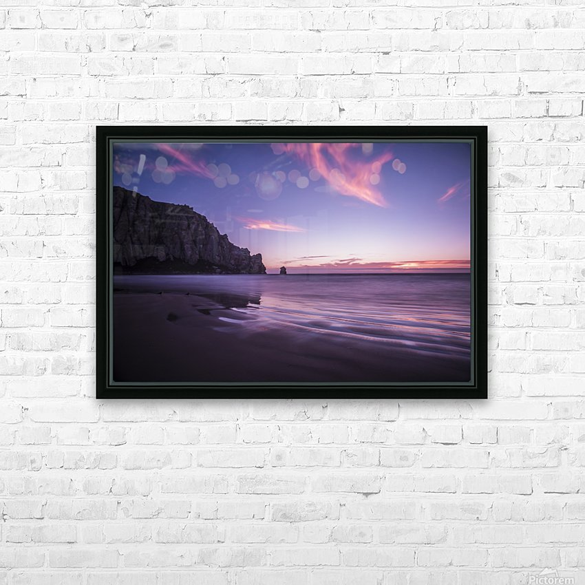 MorroBay HD Sublimation Metal print with Decorating Float Frame (BOX)