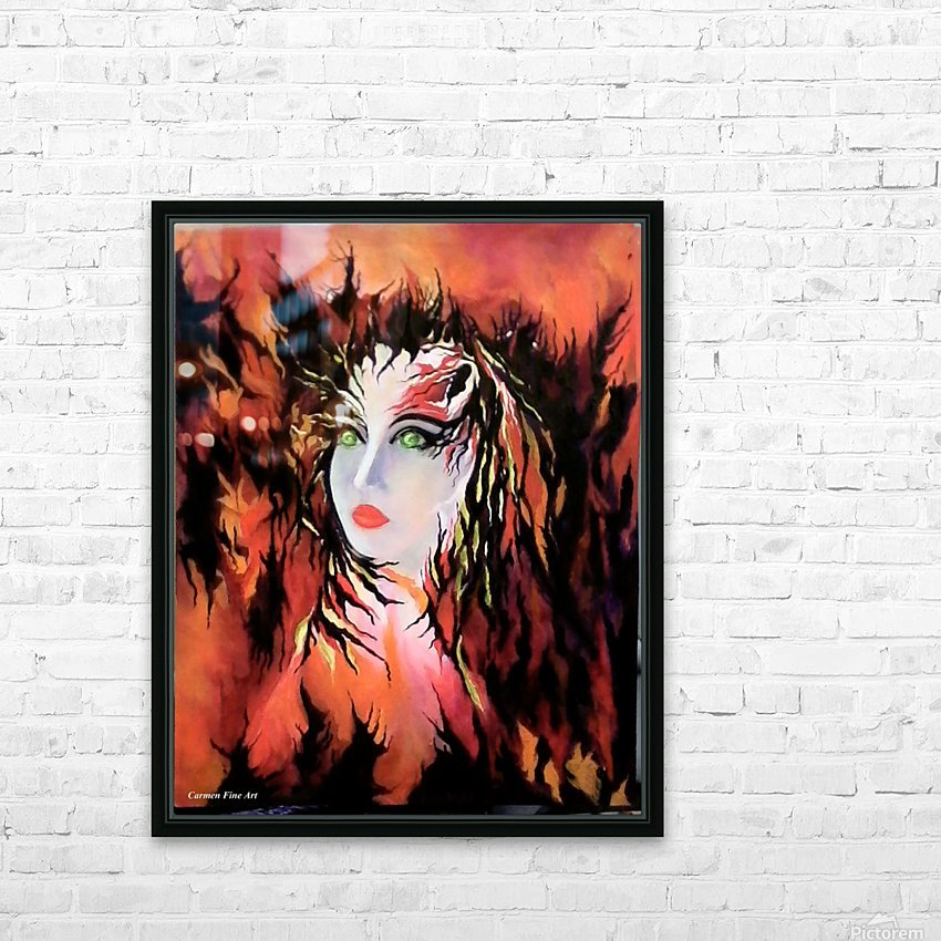 Lonely Angel of God HD Sublimation Metal print with Decorating Float Frame (BOX)