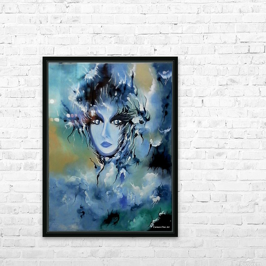 Depth in Venus HD Sublimation Metal print with Decorating Float Frame (BOX)