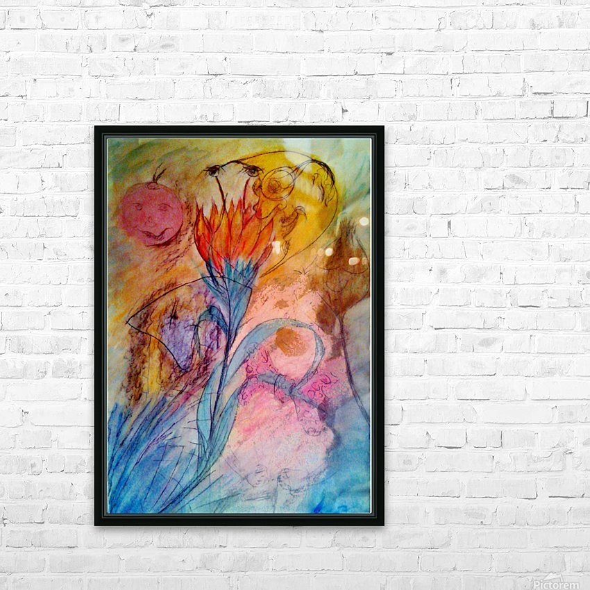 ByLittle  HD Sublimation Metal print with Decorating Float Frame (BOX)