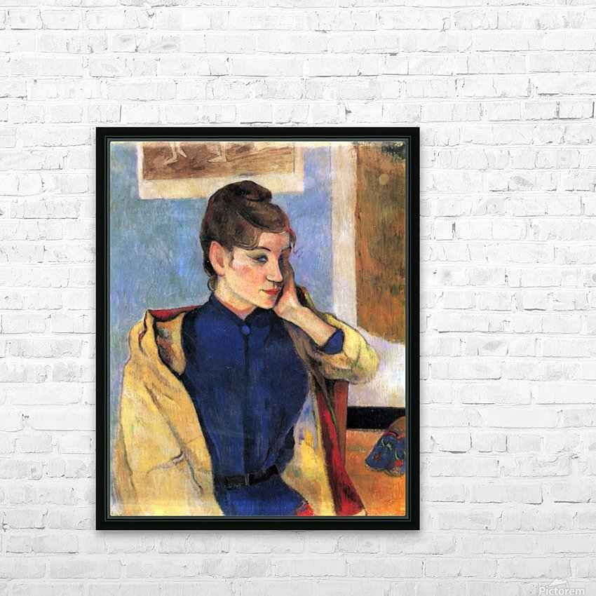 Madeleine Bernard by Gauguin HD Sublimation Metal print with Decorating Float Frame (BOX)