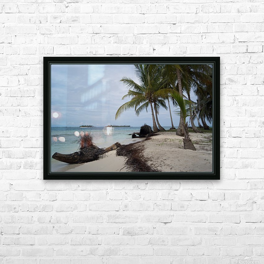 San Blas Island 4 HD Sublimation Metal print with Decorating Float Frame (BOX)