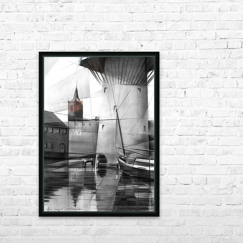 Schiedam - 11-08-16 HD Sublimation Metal print with Decorating Float Frame (BOX)