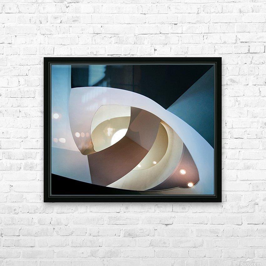 Top light HD sublimation métal imprimé avec décoration flotteur cadre (boîte)