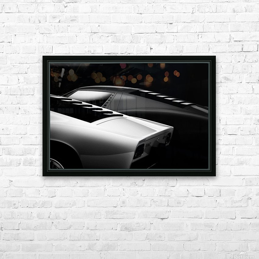 2 Miura HD Sublimation Metal print with Decorating Float Frame (BOX)