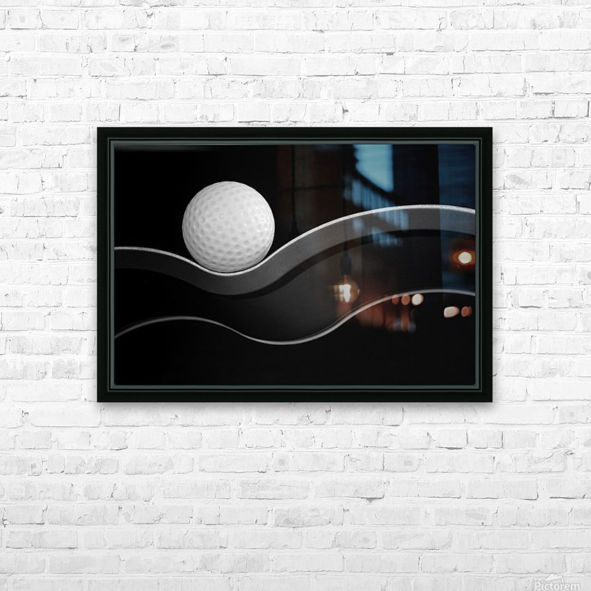 Craters and Curves HD Sublimation Metal print with Decorating Float Frame (BOX)