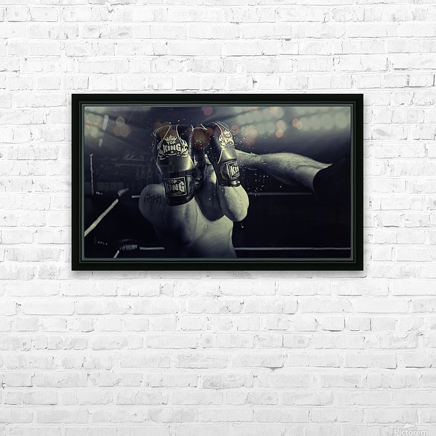 In the Glare of the Lights HD Sublimation Metal print with Decorating Float Frame (BOX)