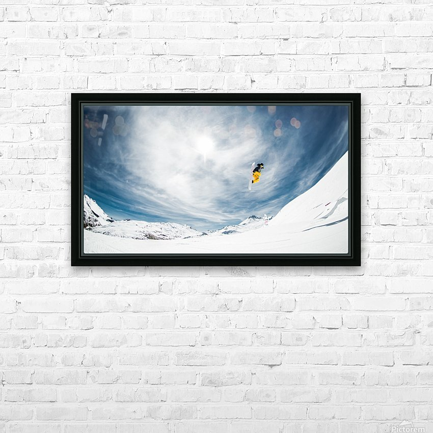 One fine method grab... HD Sublimation Metal print with Decorating Float Frame (BOX)