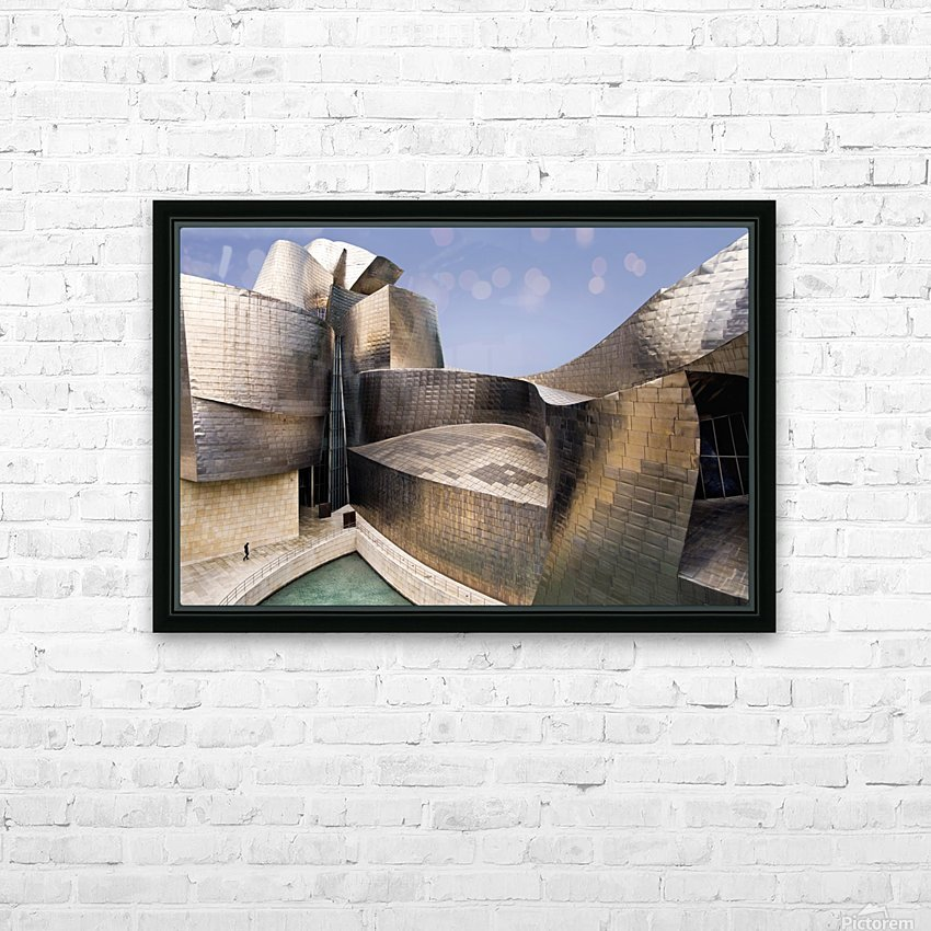 undulation HD Sublimation Metal print with Decorating Float Frame (BOX)