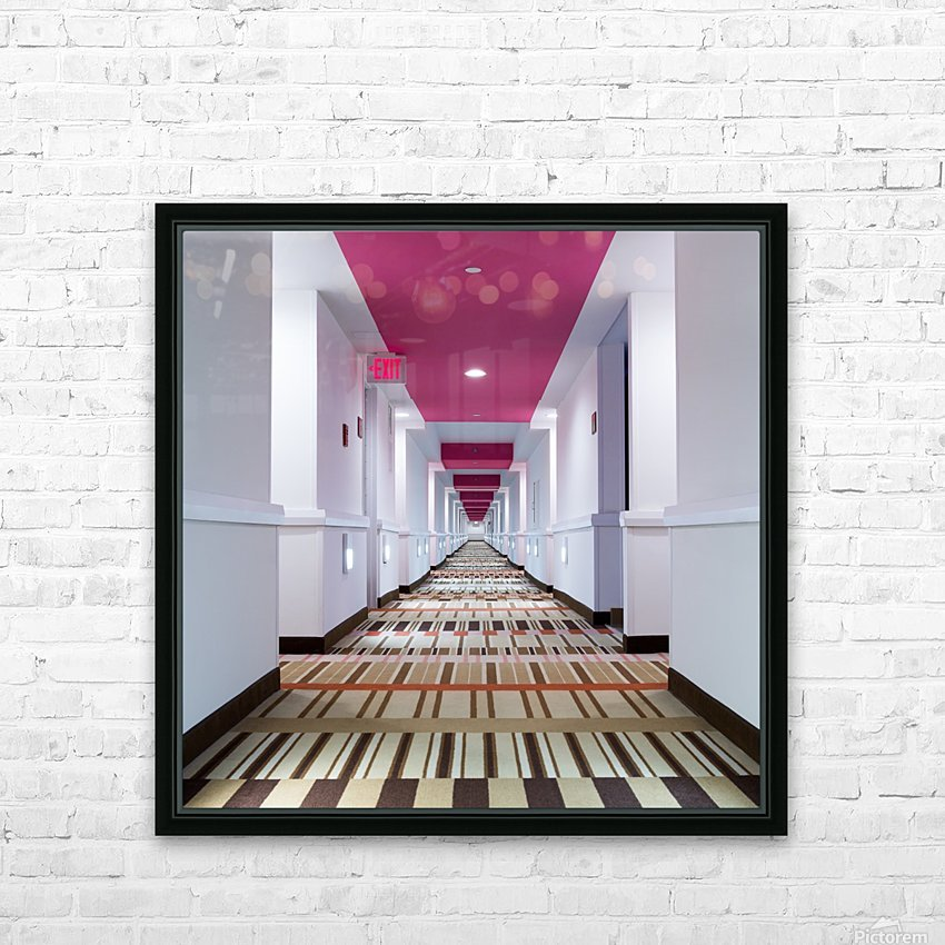 Exit HD Sublimation Metal print with Decorating Float Frame (BOX)