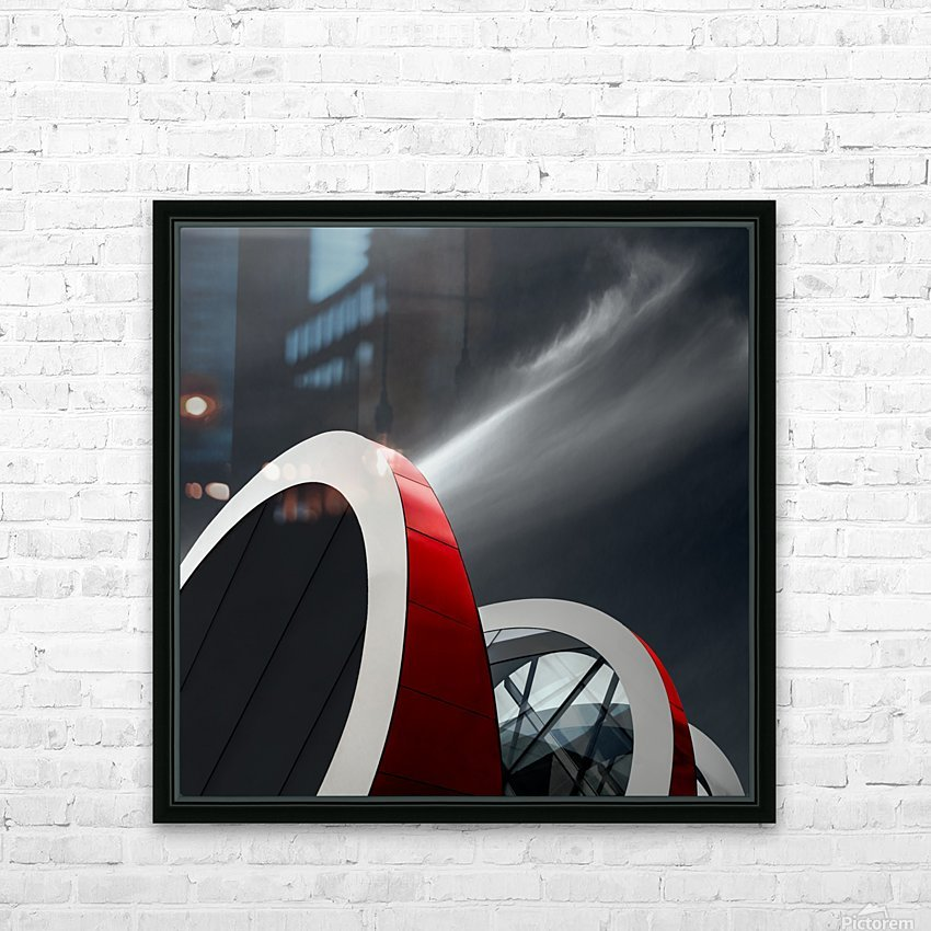 Mediacita HD Sublimation Metal print with Decorating Float Frame (BOX)