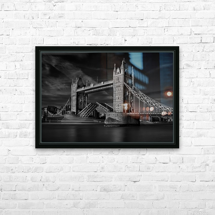 Bridge HD Sublimation Metal print with Decorating Float Frame (BOX)