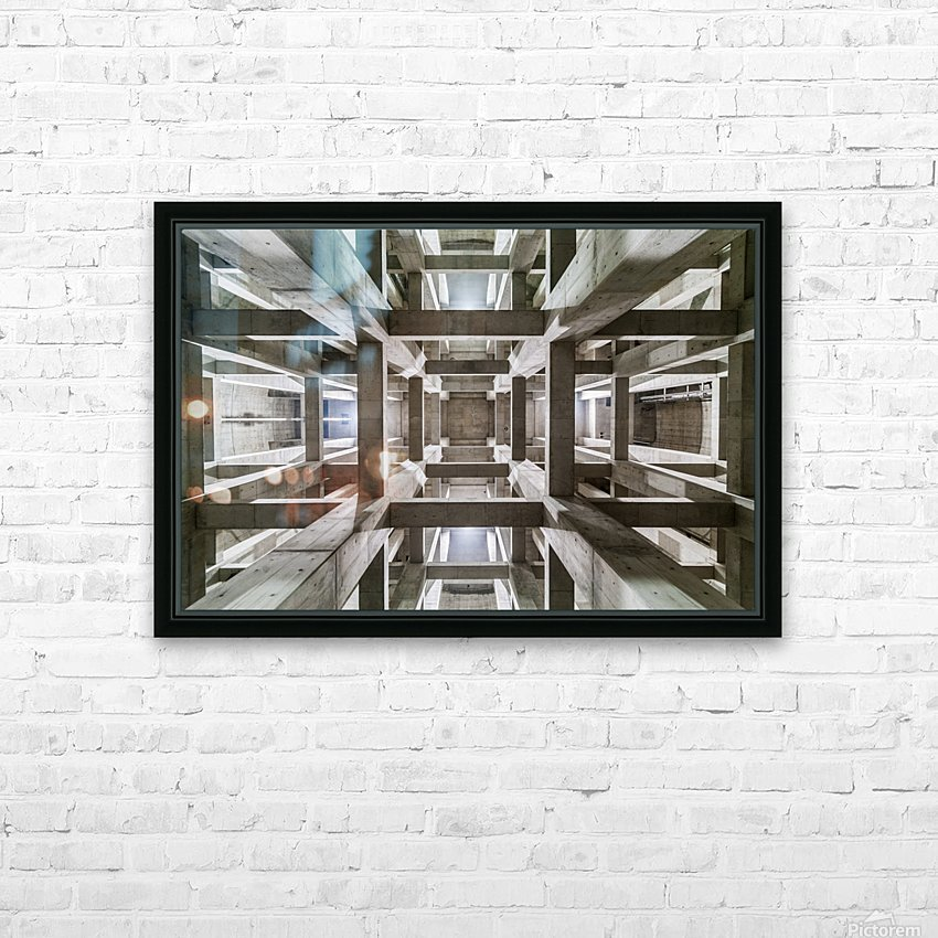 ceiling HD Sublimation Metal print with Decorating Float Frame (BOX)