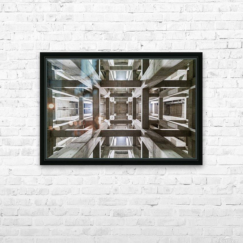 ceiling HD sublimation métal imprimé avec décoration flotteur cadre (boîte)
