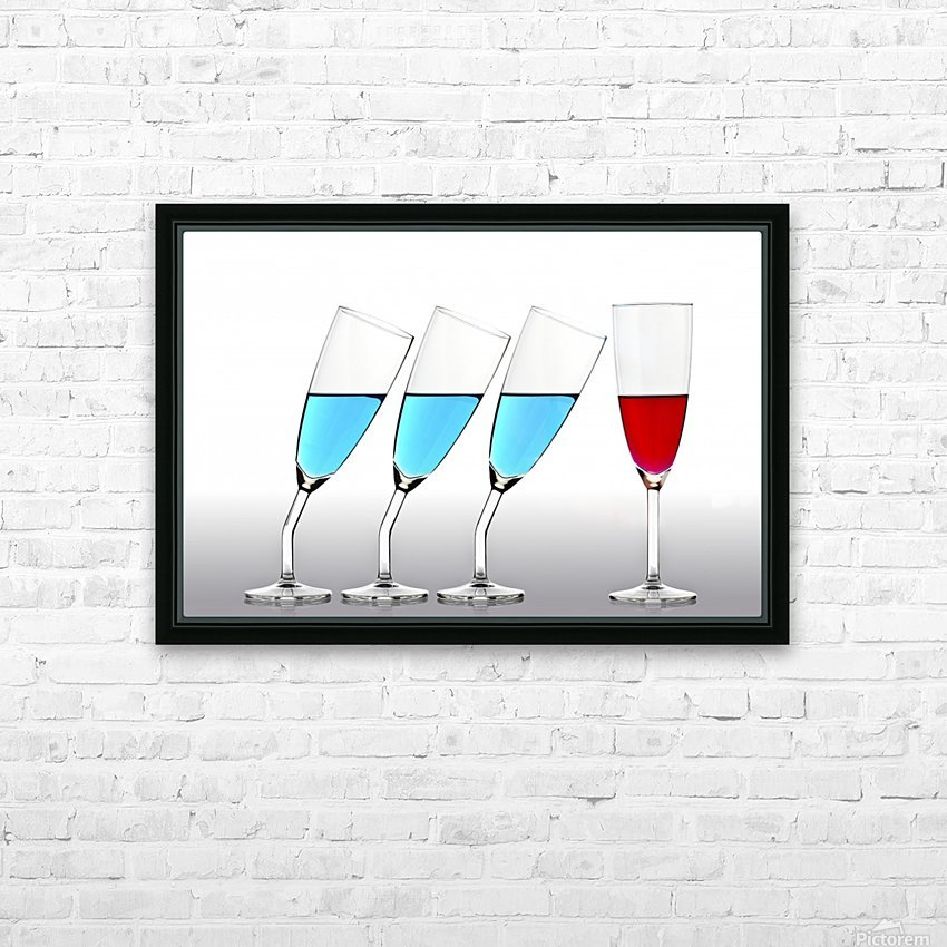 The Suitors HD Sublimation Metal print with Decorating Float Frame (BOX)