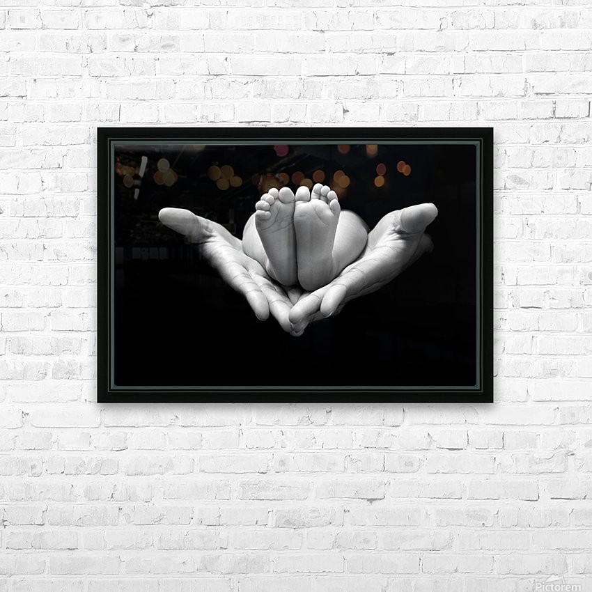A little miracle HD Sublimation Metal print with Decorating Float Frame (BOX)