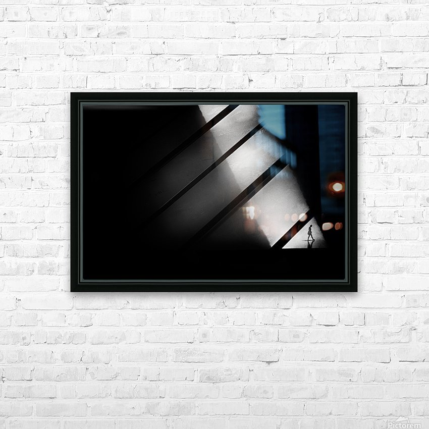 Crossing HD Sublimation Metal print with Decorating Float Frame (BOX)