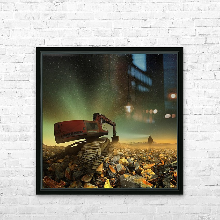Goldherer HD Sublimation Metal print with Decorating Float Frame (BOX)