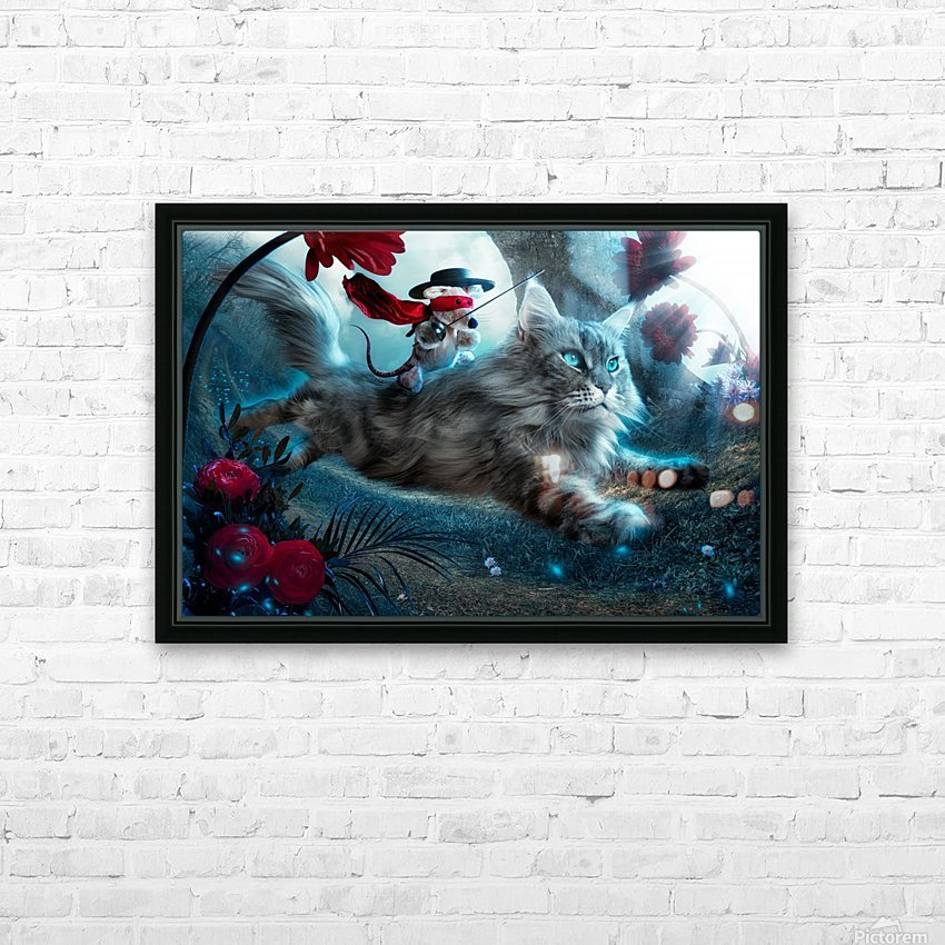 The Hero HD Sublimation Metal print with Decorating Float Frame (BOX)