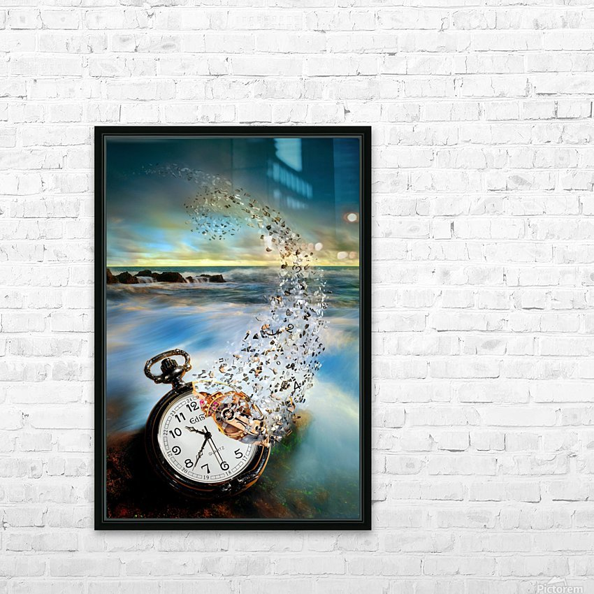 The Vanishing Time HD Sublimation Metal print with Decorating Float Frame (BOX)