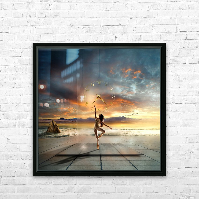in my dreams ... HD Sublimation Metal print with Decorating Float Frame (BOX)