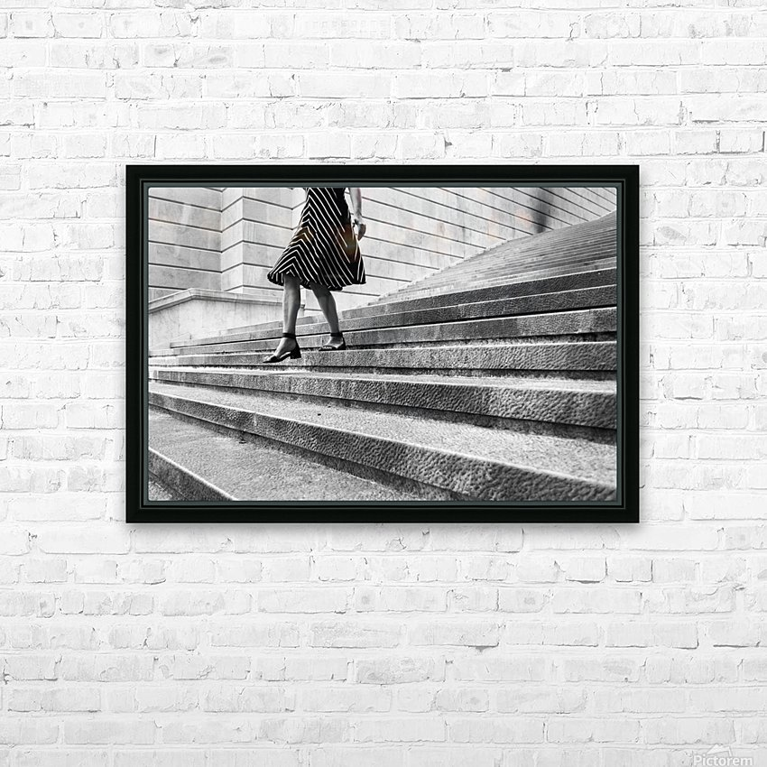 Escape Myself HD Sublimation Metal print with Decorating Float Frame (BOX)