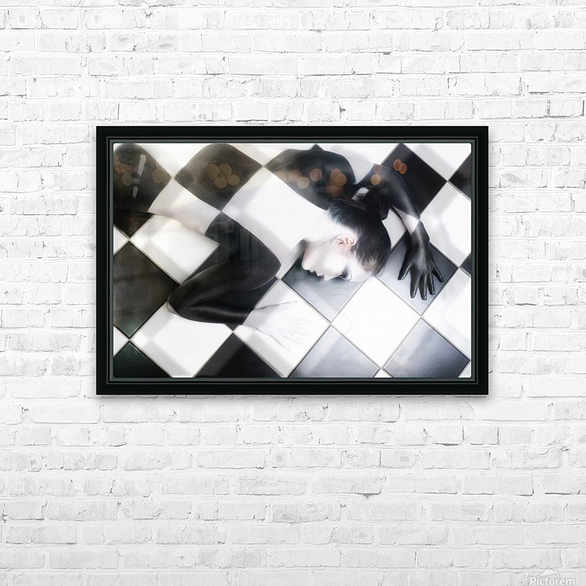 Tile Tales HD Sublimation Metal print with Decorating Float Frame (BOX)