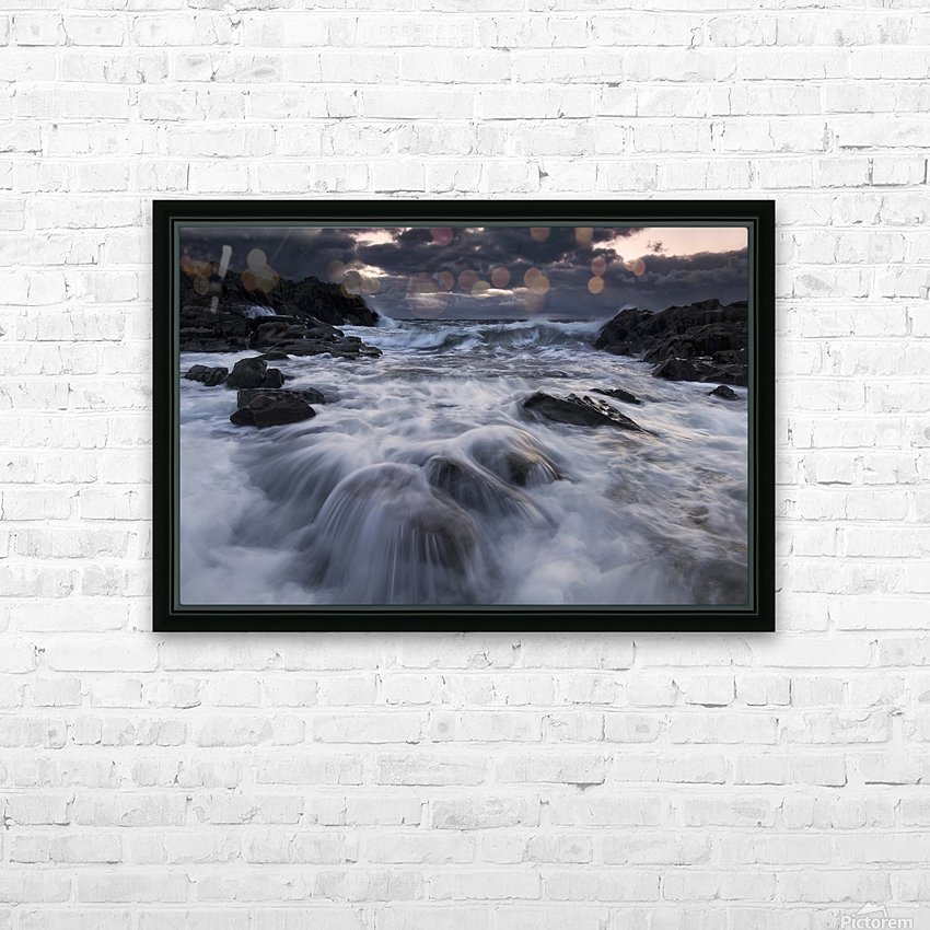 Furious HD Sublimation Metal print with Decorating Float Frame (BOX)
