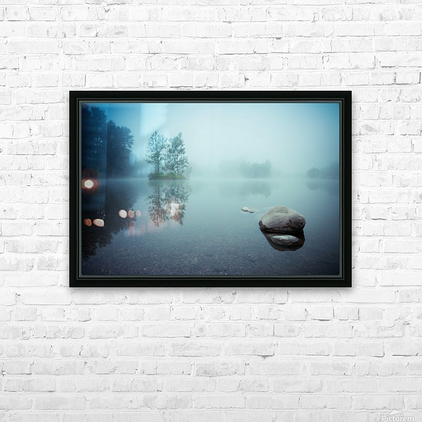 Laguna Morning HD Sublimation Metal print with Decorating Float Frame (BOX)