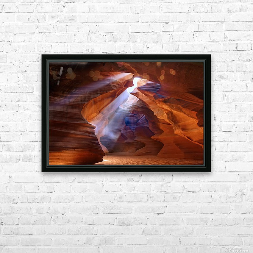 Pure Photodelight  2 HD Sublimation Metal print with Decorating Float Frame (BOX)