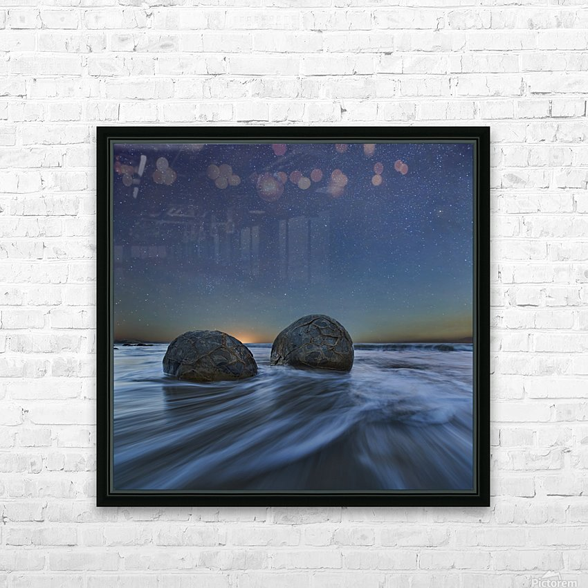 Be Together HD Sublimation Metal print with Decorating Float Frame (BOX)