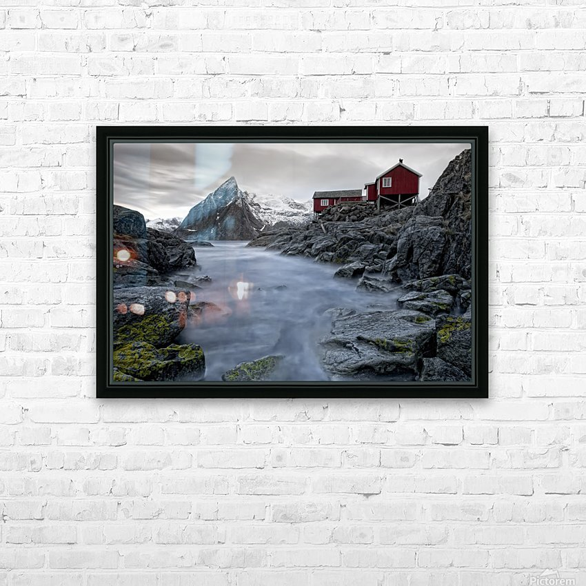 Living Norway HD Sublimation Metal print with Decorating Float Frame (BOX)