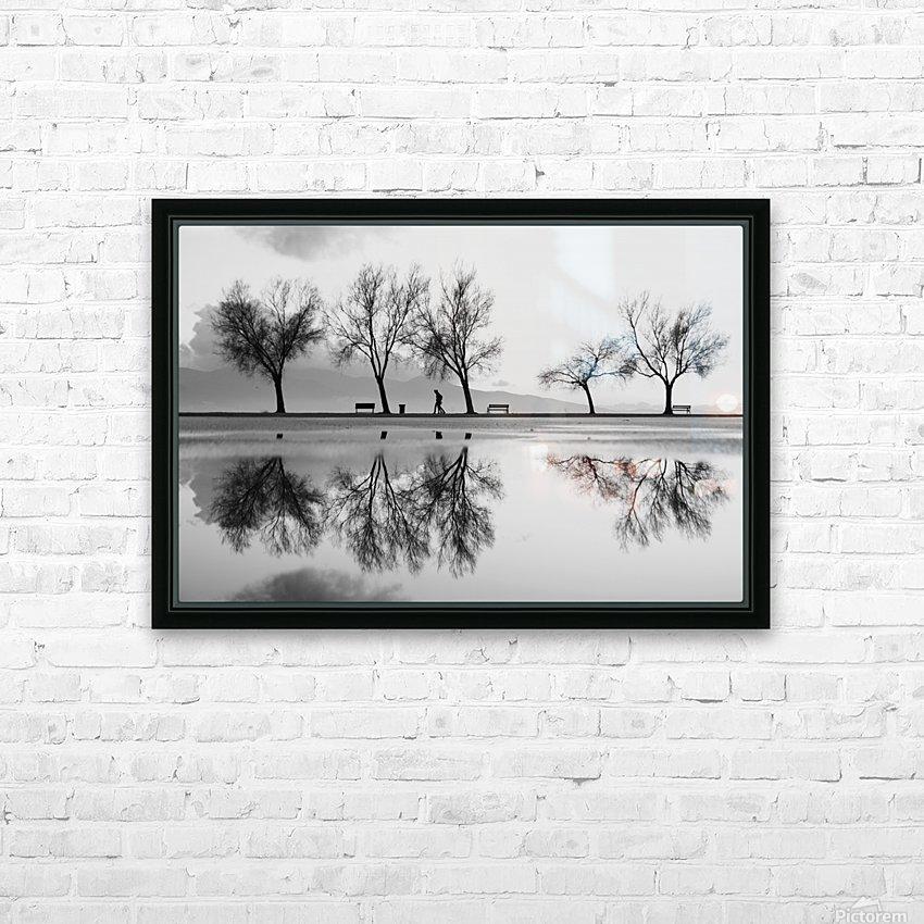 KarAŸA±yaka'dan Bir YansA±ma HD Sublimation Metal print with Decorating Float Frame (BOX)