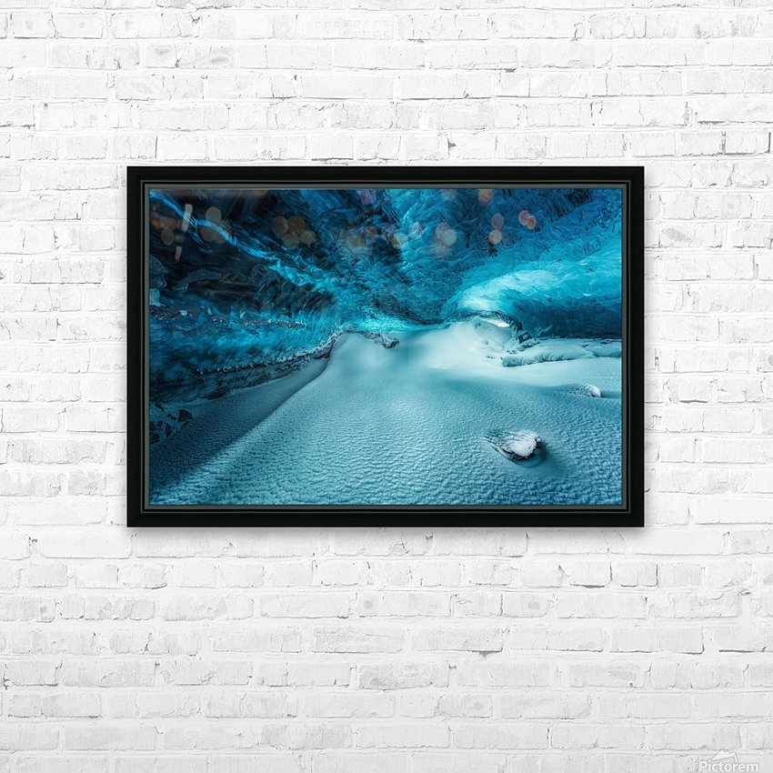 Hidden Frozen World HD Sublimation Metal print with Decorating Float Frame (BOX)