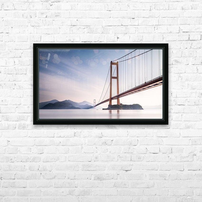 Xihou Bridge & Moon Bay HD Sublimation Metal print with Decorating Float Frame (BOX)
