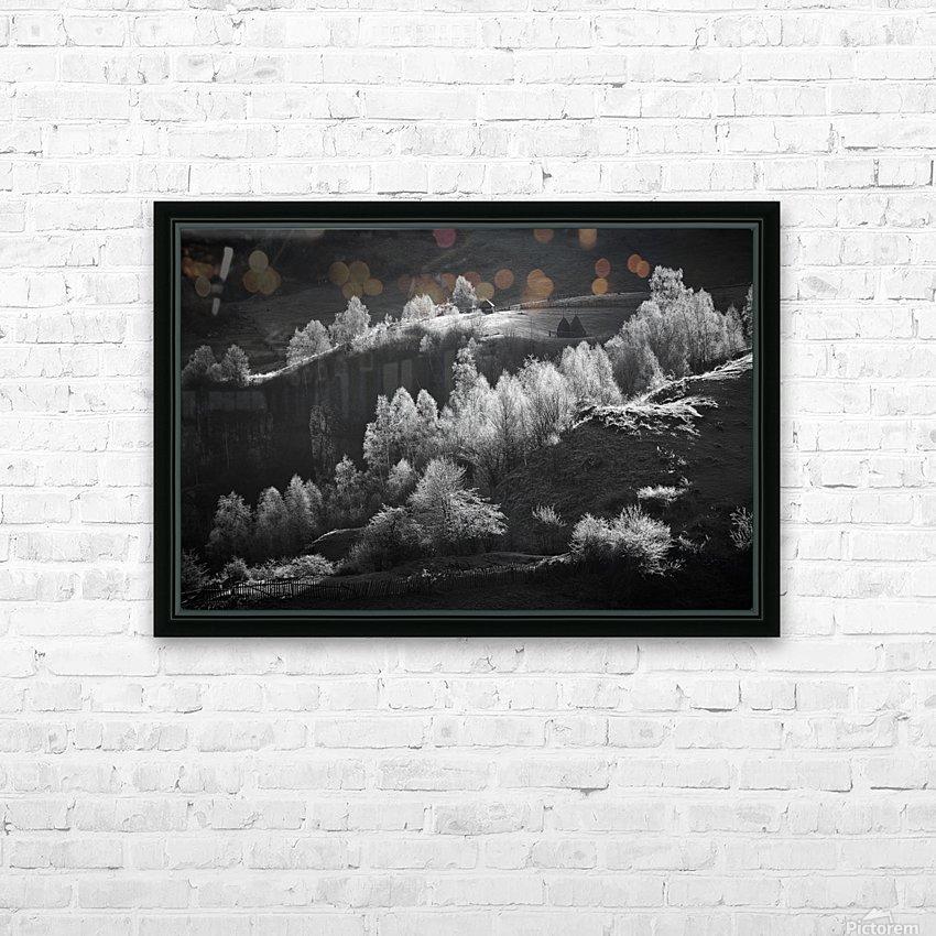 Fundatura Ponorului HD Sublimation Metal print with Decorating Float Frame (BOX)