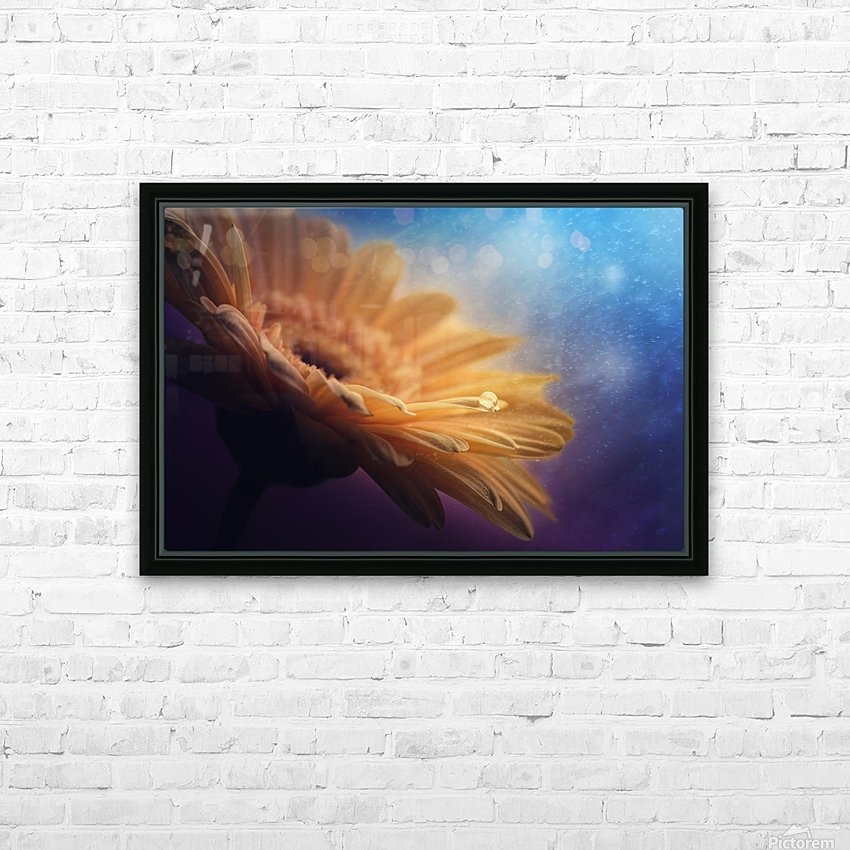Universe HD Sublimation Metal print with Decorating Float Frame (BOX)