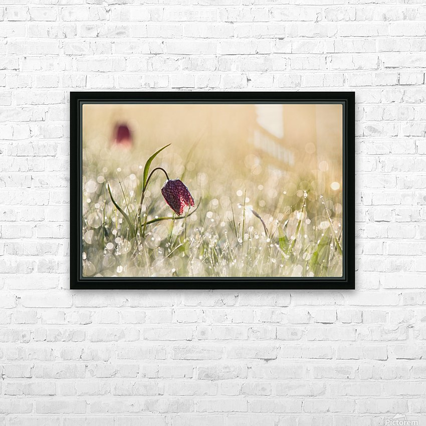 Morningdew HD Sublimation Metal print with Decorating Float Frame (BOX)