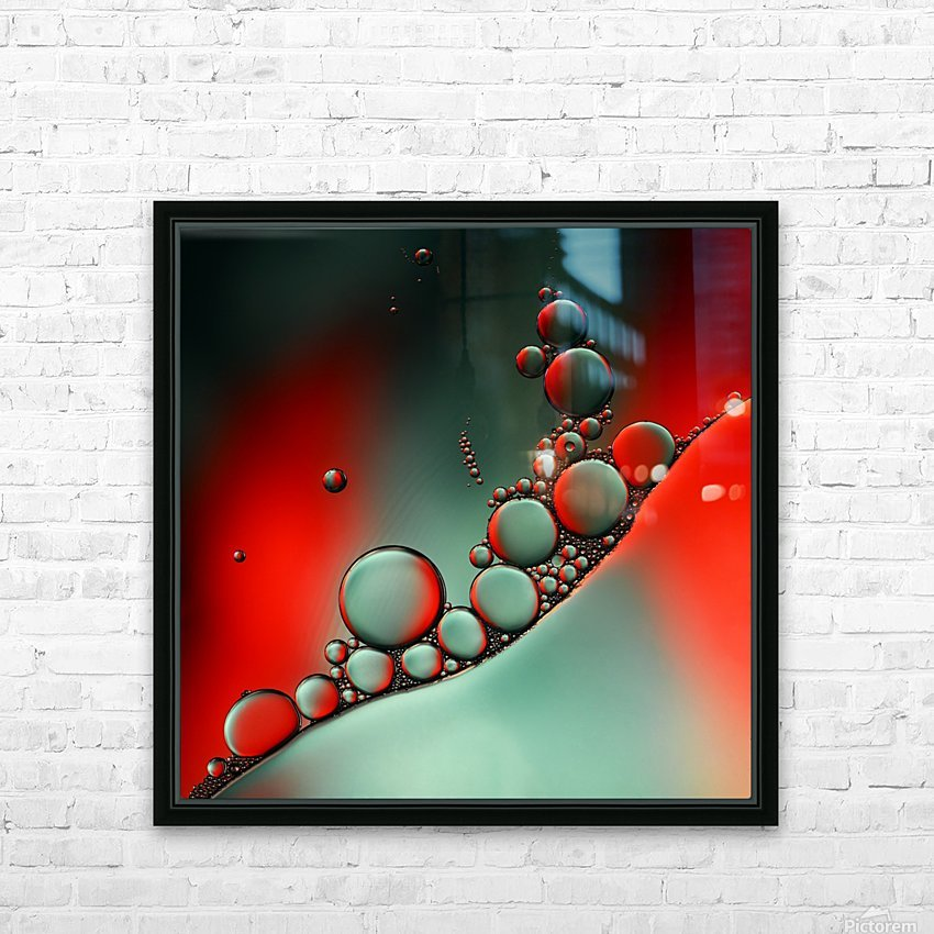Color adaptation HD Sublimation Metal print with Decorating Float Frame (BOX)