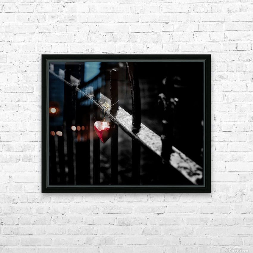 Lonely HD Sublimation Metal print with Decorating Float Frame (BOX)