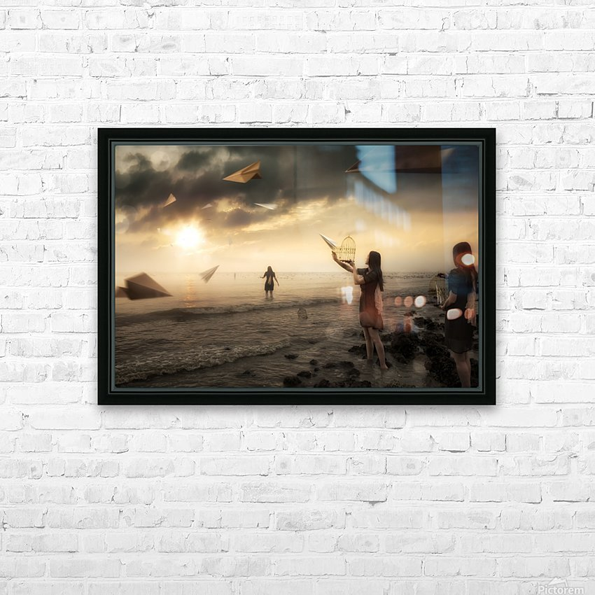 Released HD Sublimation Metal print with Decorating Float Frame (BOX)