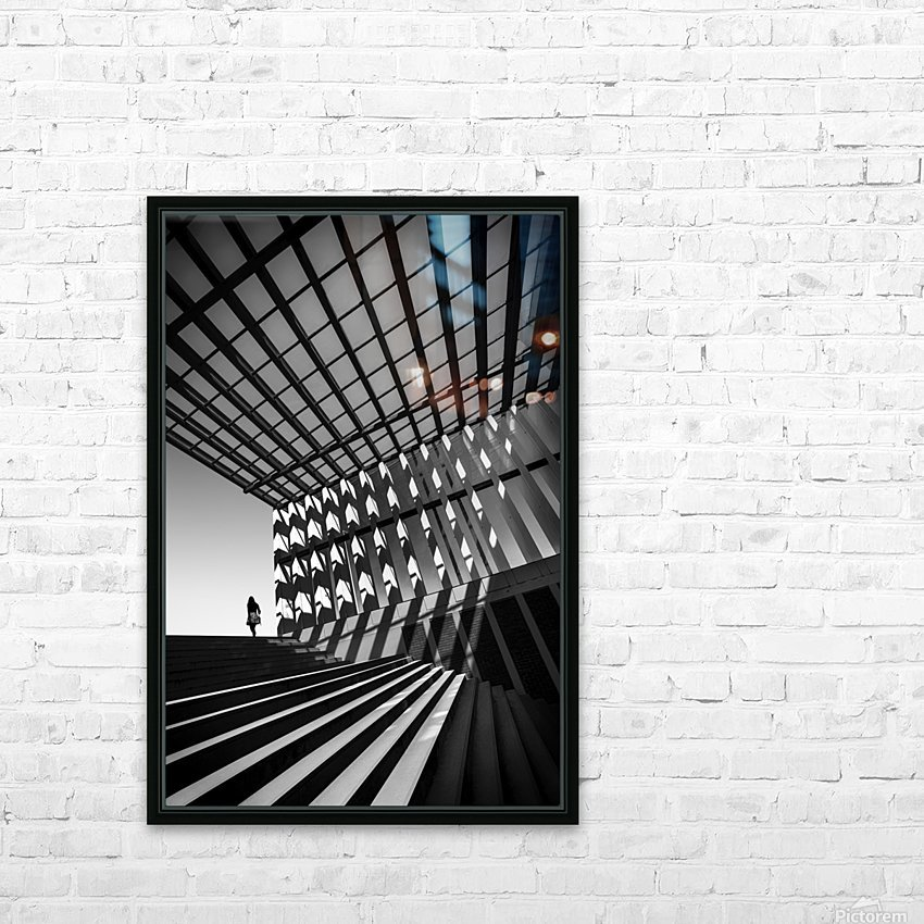 Drifting HD Sublimation Metal print with Decorating Float Frame (BOX)