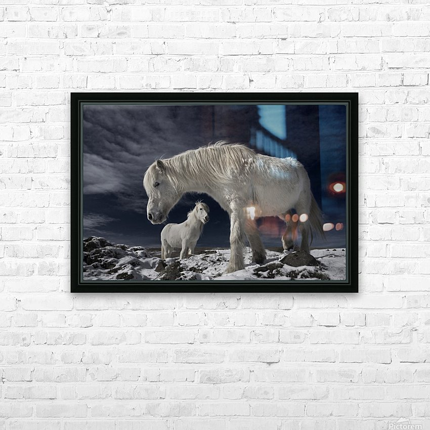 Partners HD Sublimation Metal print with Decorating Float Frame (BOX)