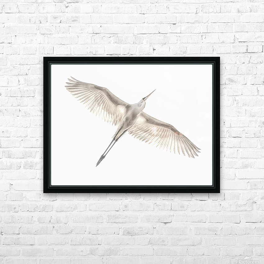 Fly HD Sublimation Metal print with Decorating Float Frame (BOX)
