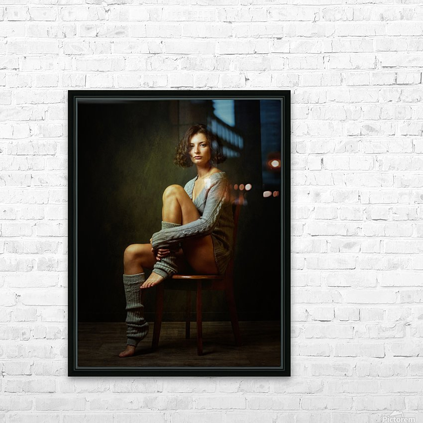 Galina HD Sublimation Metal print with Decorating Float Frame (BOX)
