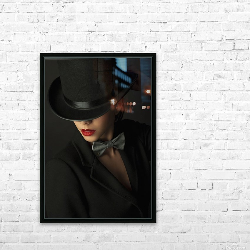 Mystery under the topper HD Sublimation Metal print with Decorating Float Frame (BOX)