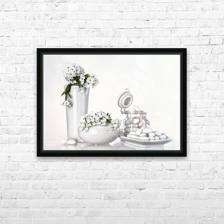 porcelain HD Sublimation Metal print with Decorating Float Frame (BOX)