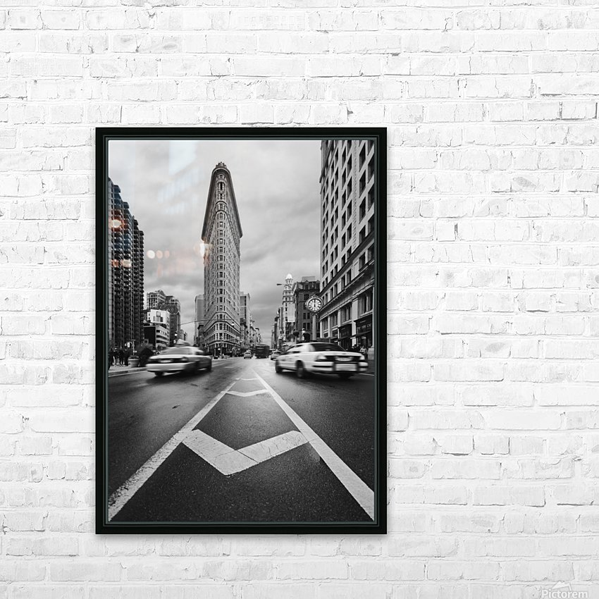 Taxiiii HD Sublimation Metal print with Decorating Float Frame (BOX)